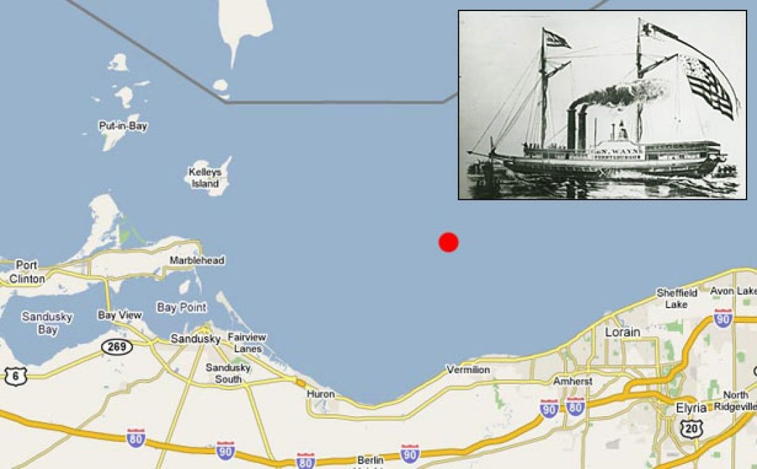 Anthony Wayne - Lake Erie Shipwreck
