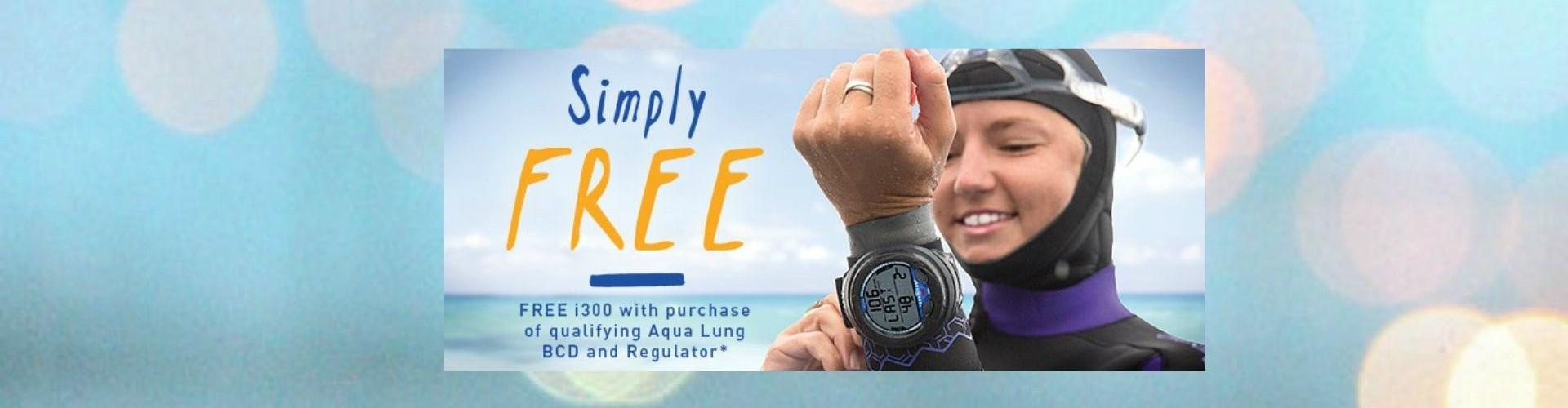 Free Aqualung i300