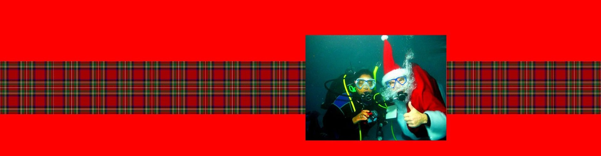 Underwater Pictures with Santa